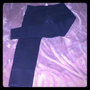 H&M Dark Blue Midrise Skinny Jegging